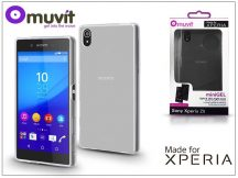 Sony Xperia Z5 (E6653) hátlap - Made for Xperia Muvit miniGel - clear