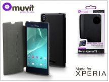 Sony Xperia T3 (D5103) flipes tok - Made for Xperia Muvit Ultra Slim Folio - black