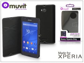 Sony Xperia E4G (E2003) flipes tok - Made for Xperia Muvit Slim Folio - black