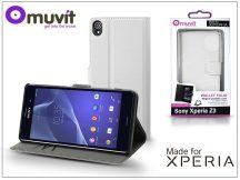 Sony Xperia Z3 (D6603) flipes tok - Made for Xperia Muvit Wallet Folio - white