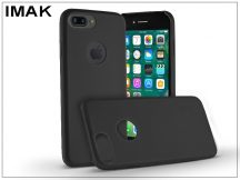 Apple iPhone 7 Plus hátlap - IMAK Ultra-Thin Leather - fekete