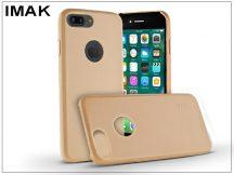 Apple iPhone 7 Plus hátlap - IMAK Ultra-Thin Leather - gold