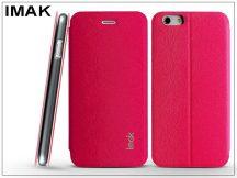 Apple iPhone 6 Plus/6S Plus oldalra nyíló flipes tok - IMAK Fun Flip - pink