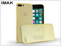 Apple iPhone 7 Plus/iPhone 8 Plus hátlap - IMAK 0.7 mm Color Slim - gold