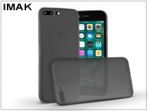 Apple iPhone 7 Plus/iPhone 8 Plus hátlap - IMAK 0.7 mm Color Slim - fekete