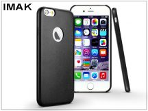 Apple iPhone 6/6S hátlap - IMAK Ultra-Thin Leather - fekete