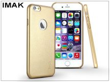 Apple iPhone 6/6S hátlap - IMAK Ultra-Thin Leather - gold