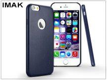 Apple iPhone 6/6S hátlap - IMAK Ultra-Thin Leather - kék