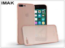Apple iPhone 7 Plus/iPhone 8 Plus hátlap - IMAK 0.7 mm Color Slim - pink
