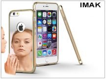 Apple iPhone 6/6S fém tükrös hátlap és keret - IMAK Mirror Zine - gold