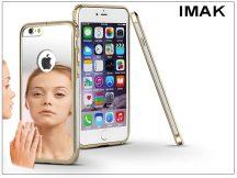 Apple iPhone 6/6S fém tükrös hátlap és keret - IMAK Mirror Zine - szürke
