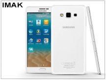 Samsung SM-A700F Galaxy A7 hátlap - IMAK Crystal Clear Slim - transparent