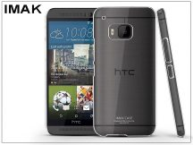 HTC One M9 hátlap - IMAK Crystal Clear Slim - transparent