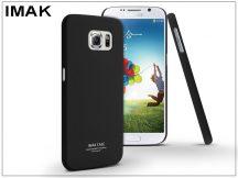 Samsung SM-G920 Galaxy S6 hátlap - IMAK Sandstone Super Slim - fekete