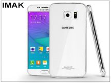 Samsung SM-G928 Galaxy S6 Edge + hátlap - IMAK Crystal Clear Slim - transparent