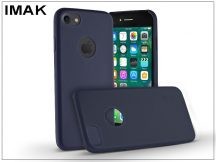 Apple iPhone 7 hátlap - IMAK Ultra-Thin Leather - kék