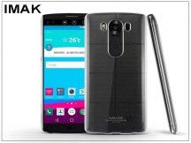 LG V10 H960H szilikon hátlap - IMAK Stealth Slim - transparent