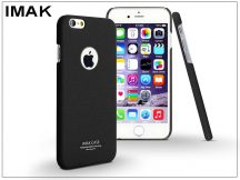 Apple iPhone 6 Plus/6S Plus hátlap - IMAK Sandstone Super Slim - fekete