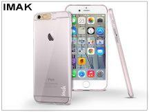 Apple iPhone 6/6S hátlap - IMAK Flashing - pink/transparent