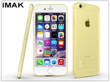 Apple iPhone 6 Plus/6S Plus szilikon hátlap - IMAK Stealth Slim - gold