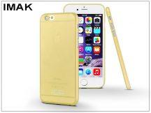 Apple iPhone 6/6S hátlap - IMAK 0.7 mm Color Slim - gold