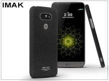 LG G5 H850 hátlap - IMAK Sandstone Super Slim - fekete