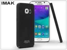 Samsung G930F Galaxy S7 hátlap - IMAK Sandstone Super Slim - fekete