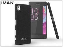 Sony Xperia X (F5121) hátlap - IMAK Sandstone Super Slim - fekete