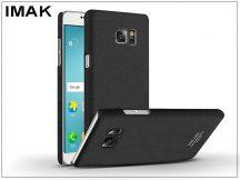 Samsung N930F Galaxy Note 7 hátlap - IMAK Sandstone Super Slim - fekete