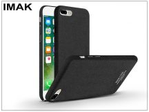 Apple iPhone 7 Plus/iPhone 8 Plus hátlap - IMAK Sandstone Super Slim - fekete