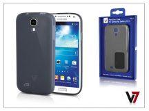 Samsung i9500 Galaxy S4 hátlap - V7 FlexSlim - szürke