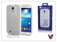 Samsung i9500 Galaxy S4 hátlap - V7 FlexSlim - fehér