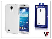 Samsung i9500 Galaxy S4 hátlap - V7 Metro Anti-Slip - fehér