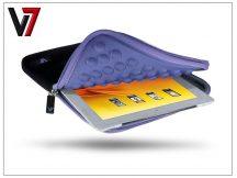 Univerzális tablet táska 7,9&quot, - V7 Ultra Protective Sleeve - fekete/lila