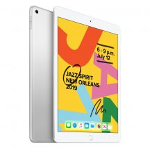 Apple iPad 2019 10.2 128GB Wifi Silver 1 év gyári garancia