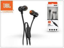 JBL univerzális sztereó fülhallgató - 3,5 mm jack - JBL T290 In-Ear Headphones - black