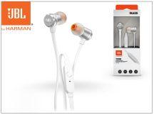 JBL univerzális sztereó fülhallgató - 3,5 mm jack - JBL T290 In-Ear Headphones - silver