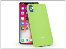 Apple iPhone X szilikon hátlap - Roar All Day Full 360 - lime