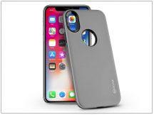 Apple iPhone X hátlap - Roar Rico Hybrid - space grey