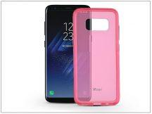 Samsung G950F Galaxy S8 hátlap - Roar Bright Clear - pink