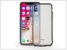 Apple iPhone X hátlap - Roar Bright Clear - black