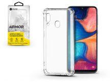 Samsung A202F Galaxy A20e szilikon hátlap - Roar Armor Gel - transparent