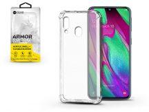 Samsung A405F Galaxy A40 szilikon hátlap - Roar Armor Gel - transparent
