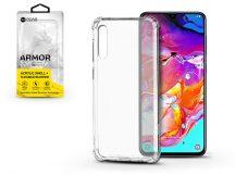 Samsung A705F Galaxy A70 szilikon hátlap - Roar Armor Gel - transparent