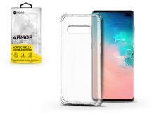 Samsung G975U Galaxy S10+ szilikon hátlap - Roar Armor Gel - transparent