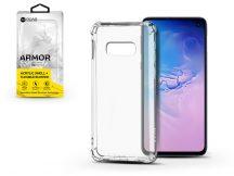 Samsung G970U Galaxy S10e szilikon hátlap - Roar Armor Gel - transparent