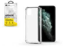 Apple iPhone 11 Pro Max szilikon hátlap - Roar Armor Gel - transparent