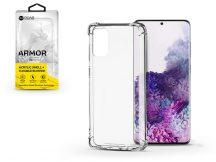 Samsung G985F Galaxy S20+ szilikon hátlap - Roar Armor Gel - transparent