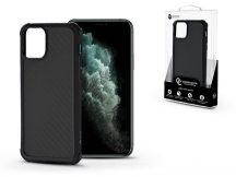 Apple iPhone 11 Pro Max szilikon hátlap - Roar Carbon Armor Ultra-Light Soft Case - fekete