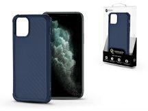 Apple iPhone 11 Pro Max szilikon hátlap - Roar Carbon Armor Ultra-Light Soft Case - kék